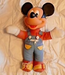 Disney Mickey Mouse Doll 15 15-inch Rare Vintage