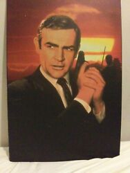 James Bond Sean Connery Authentic Poster You Only Live Twice 1967. 1996 Video.