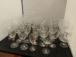 Various Sizes Avitra Duncan Bulgaria Coupes, Nick And Nora, Wine Water Cordial