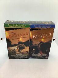 The Bastard And The Rebels - Parts 1 And 2 Kent Family Chronicles 4 Vhs Set