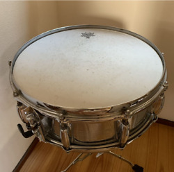 Super Rare Slingerland Remo Weather King 14 Snare Drum Made In Usa S/n 278948