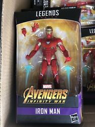 Marvel Legends 6 In Invincible Iron Man Thanos Series MOC