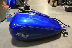 2008 Harley Davidson Flht Gas Tank With Cap And Fuel Pump Free Shipping