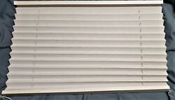 26 W X 20 L Pleated Rv Window Shades Blind Night Suede Color Trailer Camper