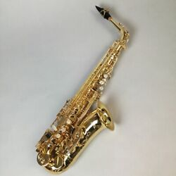 Used festi / A1800gg Gold Plated Alto Saxophone Free Shipping