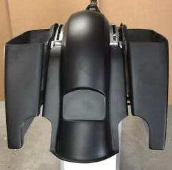 6extended Stretched Bags And Rear Fender For Harley Touring Bikes 2014-2018