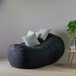 Adult Bean Bag Chair Giant Large Dorm Furniture 6 Ft Sofa Lounge College Couch
