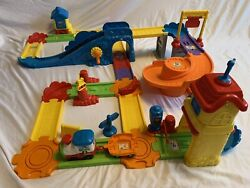Vtech Gogo Smart Wheels Train Station Playset Complete-tested- Xtra Parts