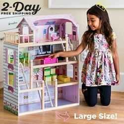 Lol Surprise Mga Dream House Size Dollhouse Furniture Girls Playhouse Townhouse