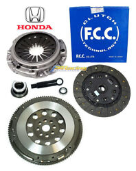 Fcc Honda Cover+fx Stage 2 Clutch Kit+chromoly Flywheel Fits 00-09 S2000 2.0 2.2