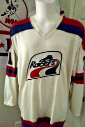 Brian Porky Mcdonald Indy Racers 1977 Wilson Wha Gamer Jersey Awesome