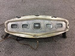 Vintage Hot Rod Amazing Art Deco Willy's Dash Cluster Great Condition Original