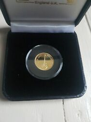 Brian May Queen 2020 Limited Edition Gold Red Special Sixpence 500 Only Sold Out
