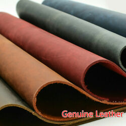 2mm Genuine Leather Fabric Real Cowhide Diy Wallet Purse Bag Notebook 3 Sizes
