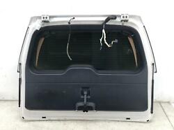 2015-2017 Ford Expedition Liftgate Trunk Lid Shell W/camera Platinum White Pearl