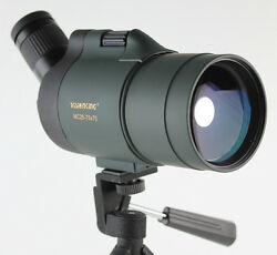 Visionking 25-75x70 Waterproof Spotting Scope Hunting Birding High Power Zoom