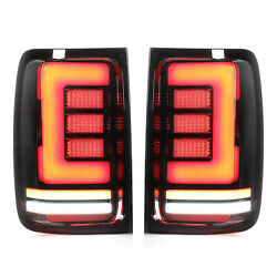 Led Tail Light Assembly Abs+pmma+pc Turn Signal Smoked Lens Waterproof Brand New