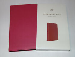 Esv Holy Bible, Berry Pink Imitation Leather Cover, English Standard Version