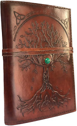 New Refillable Leather Journal Writing Notebook Antique Handmade Leather Bound