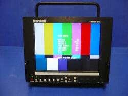 Mint Marshall V-r841dp-afhd 8.4 Hd Monitor With Stand, Steadicam Lcd