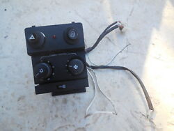 Porsche 911 Center Console Switch Base With Switches/controls 2