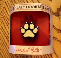 Michael Healy Doorbell Dog Paw Ringer Original Handcrafted Brass New Great Gift