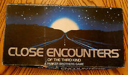 Close Encounters Of The Third Kind Complete Sci-fi 1978 Collectible Board Game