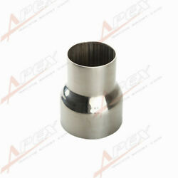 Us. 3 To 4 Inch Od Stainless Steel Flared Turbo Exhaust Pipe Reducer Adapter