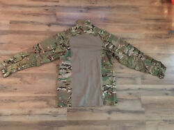 Massif Brand Army Combat Top Size Large New Flame Resistant Army Combat Shirt