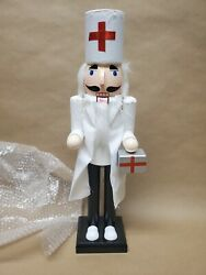 Brand New Clever Creations Doctor Nutcracker Collectable Figure15 Tall