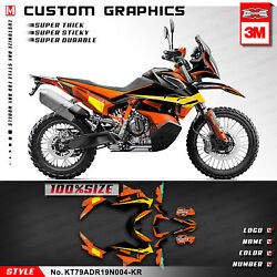 Kungfu Graphics Full Sticker Racing Decal Wrap Kit For 790 Adventure R 2019 2020