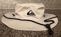 Quicksilver Gray amp; Black Bucket Boonie Hat SIze L XL $23.95