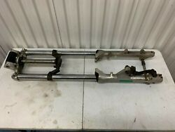 Honda Vf700c Magna Oem Front Forks With Triple Tree And Handlebar Mount.