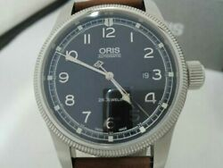 Oris Big Crown Limited Edition 01 733 7669 4084 Automatic Mens Watch Box And Paper