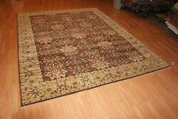 Hand-made Ziegler Mahal Rug 7and0399 X 10and039 Hand-knotted Area Rug