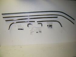 Upper Bed Roof Tailgate Molding 7 Pc With Clips And Screws 78-87 El Camino Kupm Fs