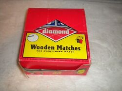 Diamond/ Three Torches Strike On Box Wood Matches 48 Boxes Of 32 Matches