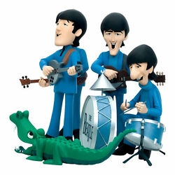 The Beatles Collectible 2004 Mcfarlane Animated Cartoon Figures And Stage Box Set