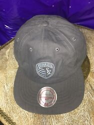 New Kansas City Sporting Mitchell And Ness Hat Cap