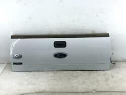 2008-2012 Ford F250 F350 Tailgate Trunk Lid Shell W/ Camera W/o Step White Z1