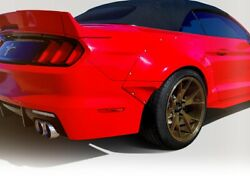 Grid Wide Body Kit 12 Pc Fits Ford Mustang 18-20 Duraflex