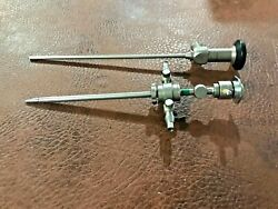 Storz Arthroscope Model 7230ba New Version With Rotating Sheath And Obturator