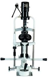 2 Step Slit Lamp W Aluminum Base, Manual Table And 110v Power Supply