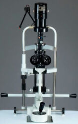 Miko/msl-2s/2 Step Slit Lamp Haag Streit With Aluminum Base And 220v Power Supply