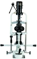 2 Step Slit Lamp W Aluminum Base Manual Table And 220v Power Supply