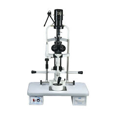 Miko/msl-3s/3 Step Slit Lamp Haag Streit W Motorized Table And 220v Power Suppy