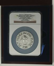 2016 Royal Mint Shakespeare 5oz Ngc Pf70 Silver Proof Ten Pound Andpound10 Coin Slabbed