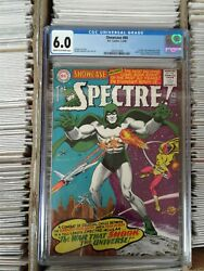 Dc Showcase Presents The Spectre Issue 60 Cgc 6.0/cream To Off-white Pages
