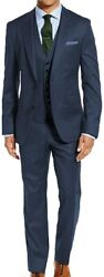 Stacy Adams Mens Big And Tall 64 66 68 70 72 3 Pc Dress Suit
