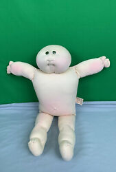 Vintage The Little People Soft Sculpture Xavier Roberts Cabbage Patch Doll
